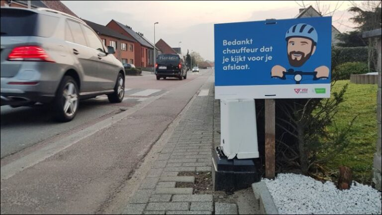 Verkeerscampagne fietsveiligheid